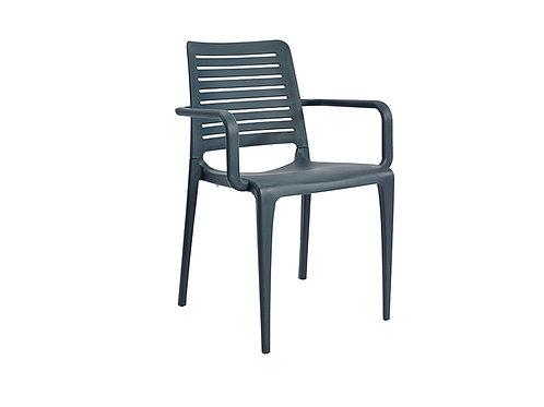 Cadeira Park Braços Antracite MS-PAR00091X00