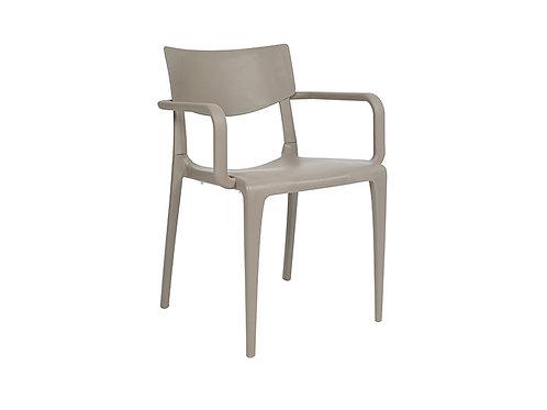 Cadeira Town Braços Taupe MS-Tow00024X00
