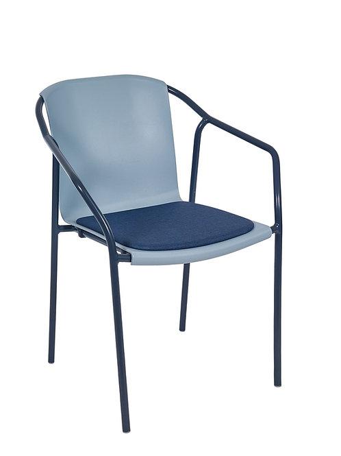 Cadeira Rod Pad Antracite MN-ROD11 029X00 Blue Grey 014S01Navi