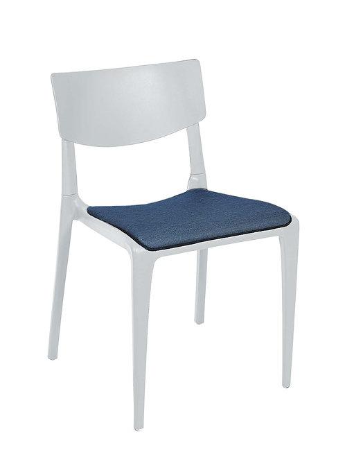 Cadeira Town Branca Pad MS-Tow10010X00/Navi 014S01