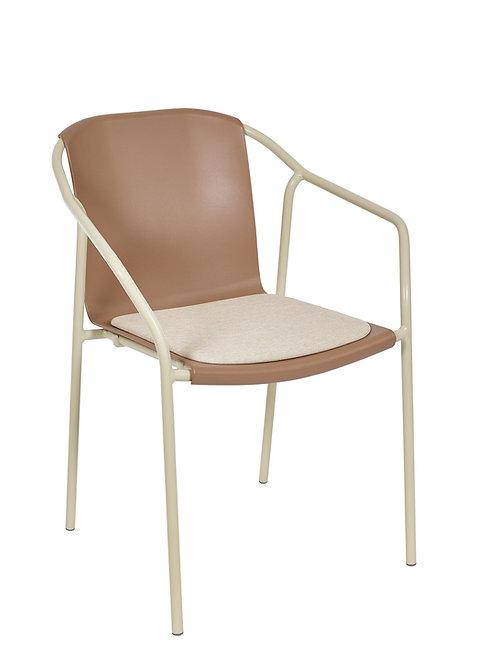 Cadeira Rod Pad Sand MN-ROD04 027X00 Capucino 001S01 Sand