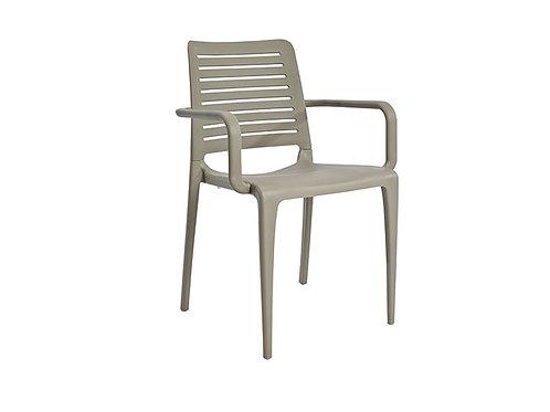 Cadeira Park Braços Taupe MS-PAR00024X00