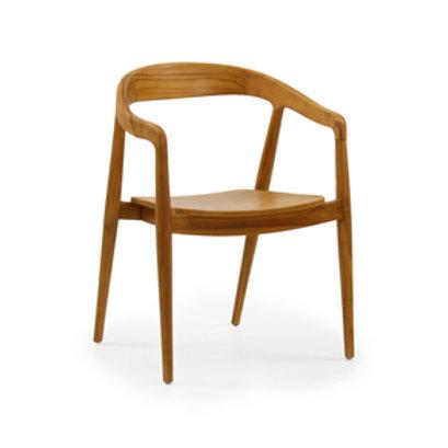 Cadeira teca Hiro empilhável