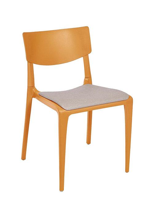 Cadeira Town Mostarda Pad MS-Tow10064X00/ 015S01taupe