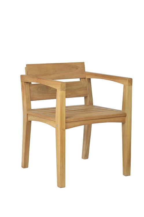 Cadeira de mesateca Vernom