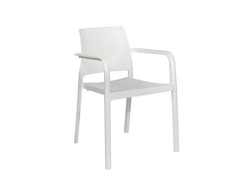 Cadeira Dock branca MN-DOC00010X00