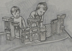 Playing with a Castle