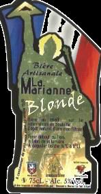 La Marianne, bière Blonde