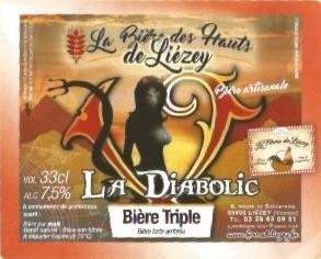 La bière des Hauts de Liézey, bière triple