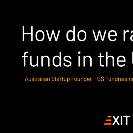 Helping Australian Startups Raise Funds in the US