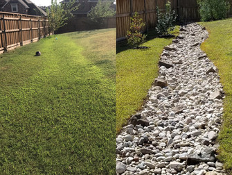 Dry Creek Beds for Landscape Drainage Solutions