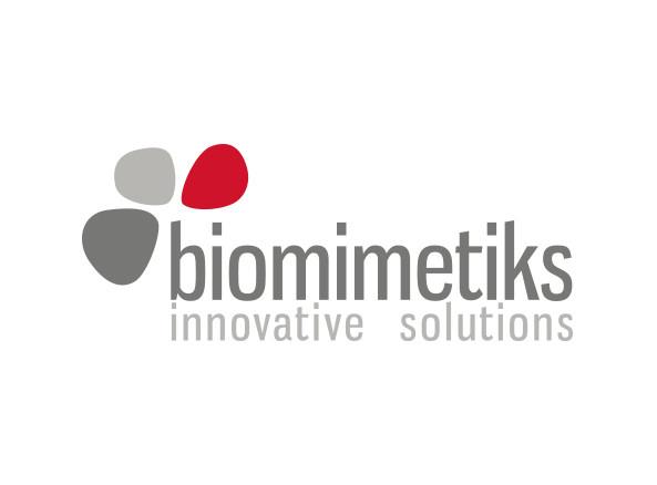 Logotipo biomimetiks.