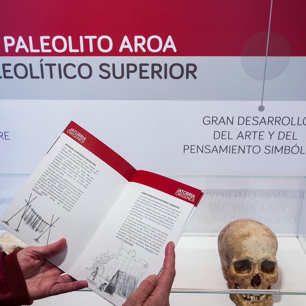 Folleto exposición paleolitico folleto.