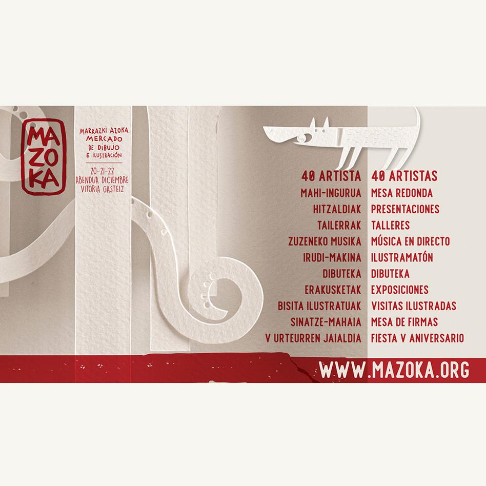 Mazoka 2019 Publi medios off line.