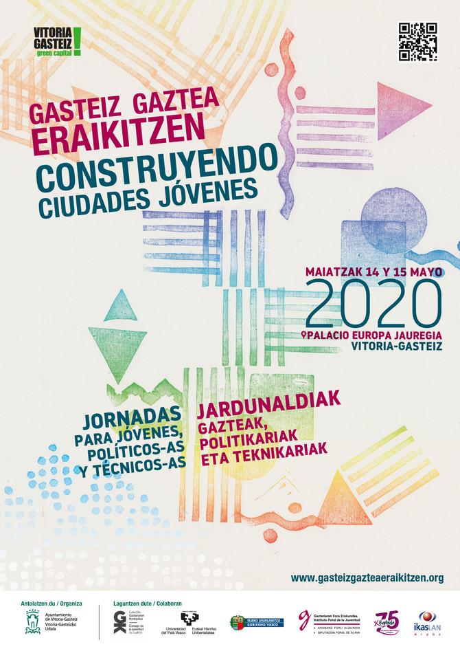 Cartel Jornadas juventud 2020.