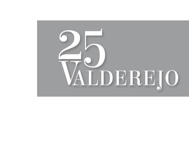 Logo 25 aniversario de la creación del parque natural de Valderejo.