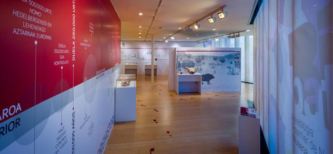 Museo Bibat, entrada a la exposición.