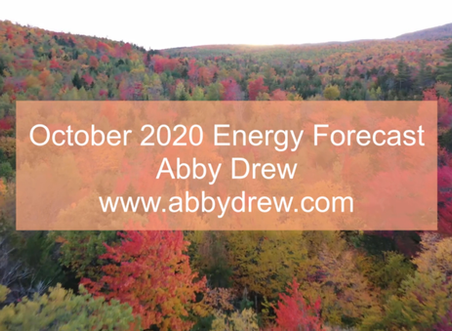 October 2020 Energy Forecast