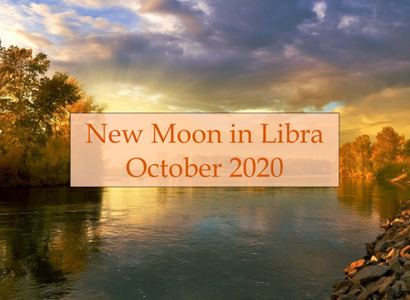 New Moon in Libra - October 2020