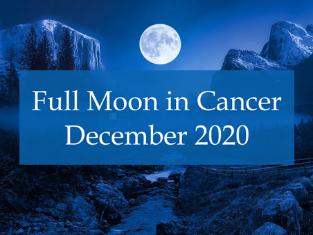 Full Moon in Cancer - December 2020