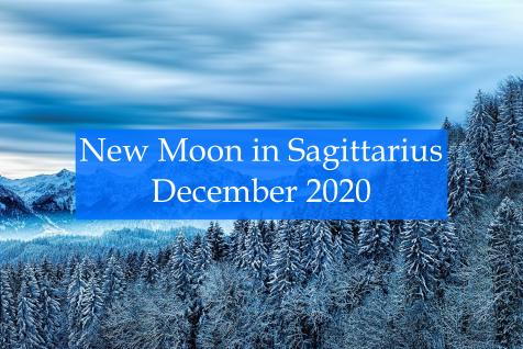New Moon in Sagittarius December 2020  Abby Drew