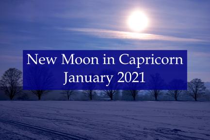 New Moon in Capricorn - Abby Drew