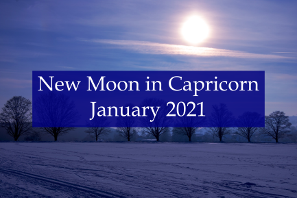 New Moon in Capricorn - January 2021