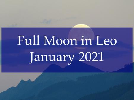 Full Moon in Leo – January 2021