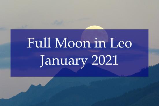 Full Moon in Leo - Abby Drew