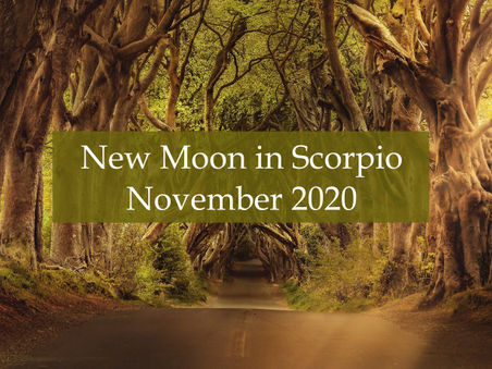 New Moon in Scorpio - November 2020