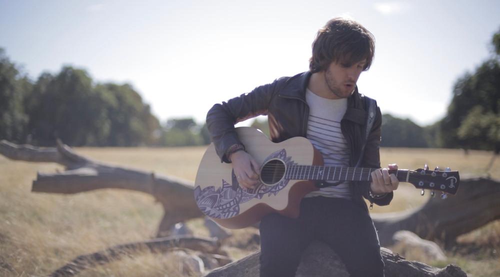 A still from Darling Boy's new music video
