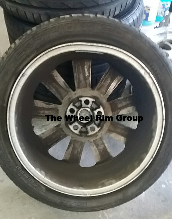 Range Rover Bent Alloy Wheel