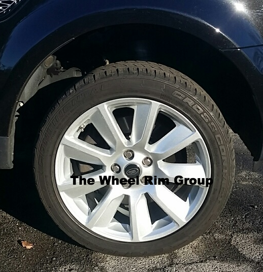 Range Rover HSE alloy wheel repair
