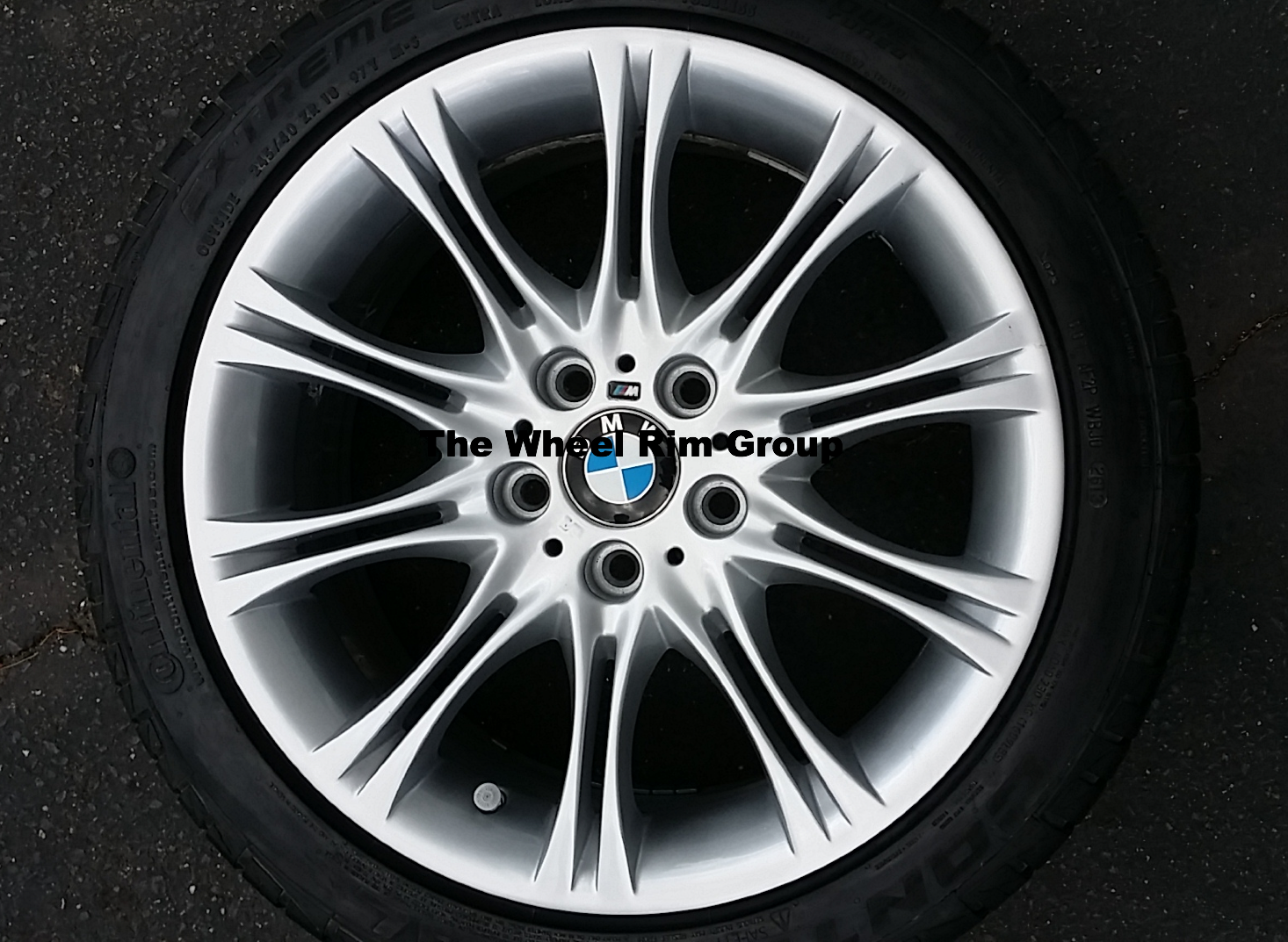 BMW M Wheel Refinished