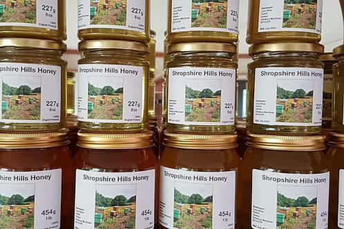 Shropshire Hills Honey 454g