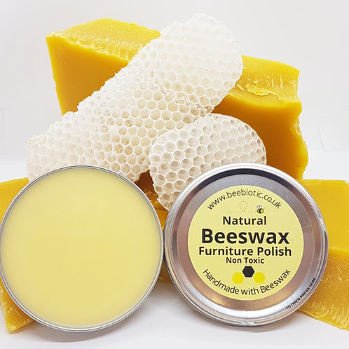 Natural Beeswax Furniture & Wood Polish