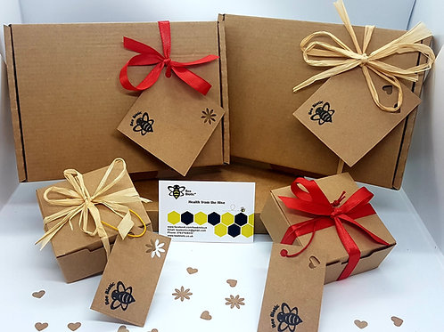 """Beespoke "" Beeswax Skincare Gift Boxes"