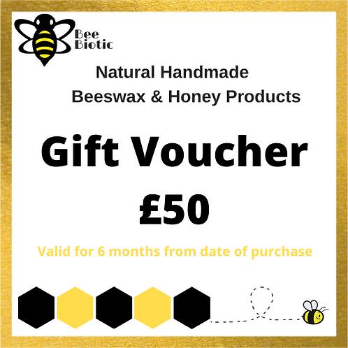 copy of Bee Biotic £50 Gift Voucher (postal)