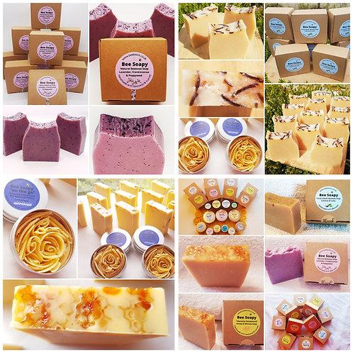 Bee Soapy Natural Beeswax & Honey Soap