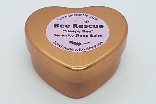 "Bee Rescue ""Sleepy Bee"" Serenity Balm Heart Edition"