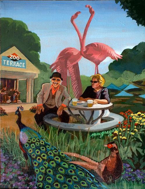 Zoo Fantasy Giclee Print