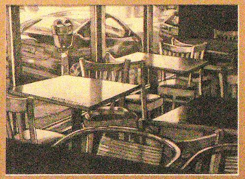 Empty Tables Original Drawing