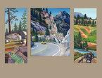 Sierra Nevadas 3 Giclee Prints