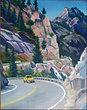 Sierra Nevadas Mt. Giclee Print