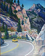 Sierra Nevadas Mt. Acrylic on Canvas