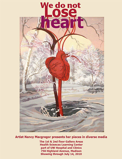 Heart Poster -  Giclee Print