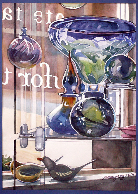 Art Glass Watercolor