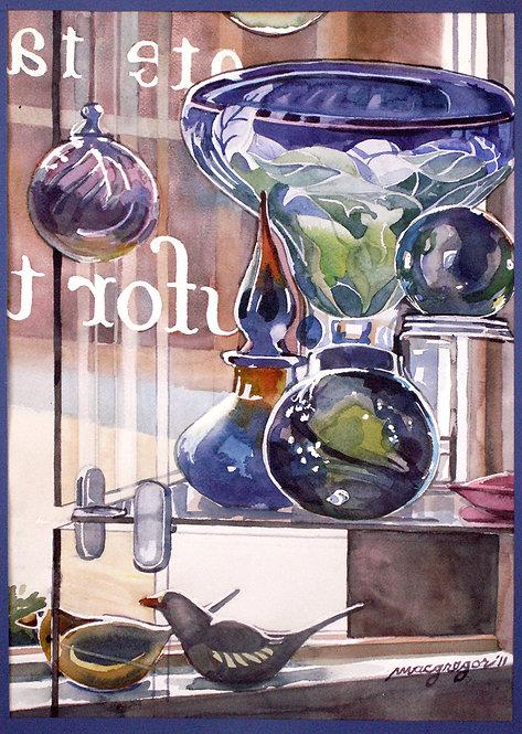 Art Glass  Giclee Print