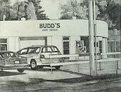 Budd's Auto Original Drawing