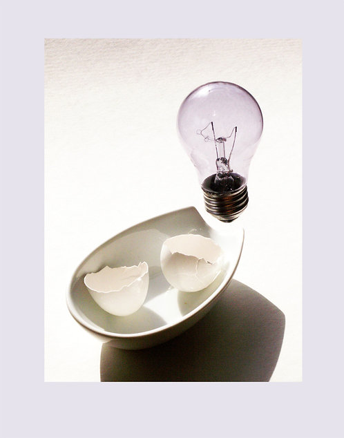 "Birth of an Idea  Photograph  9""x12'"